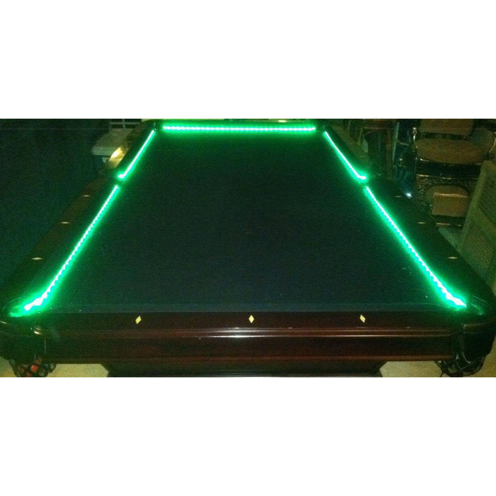 Bar Billiard Pool Table Bumper LED RGB Color Changing