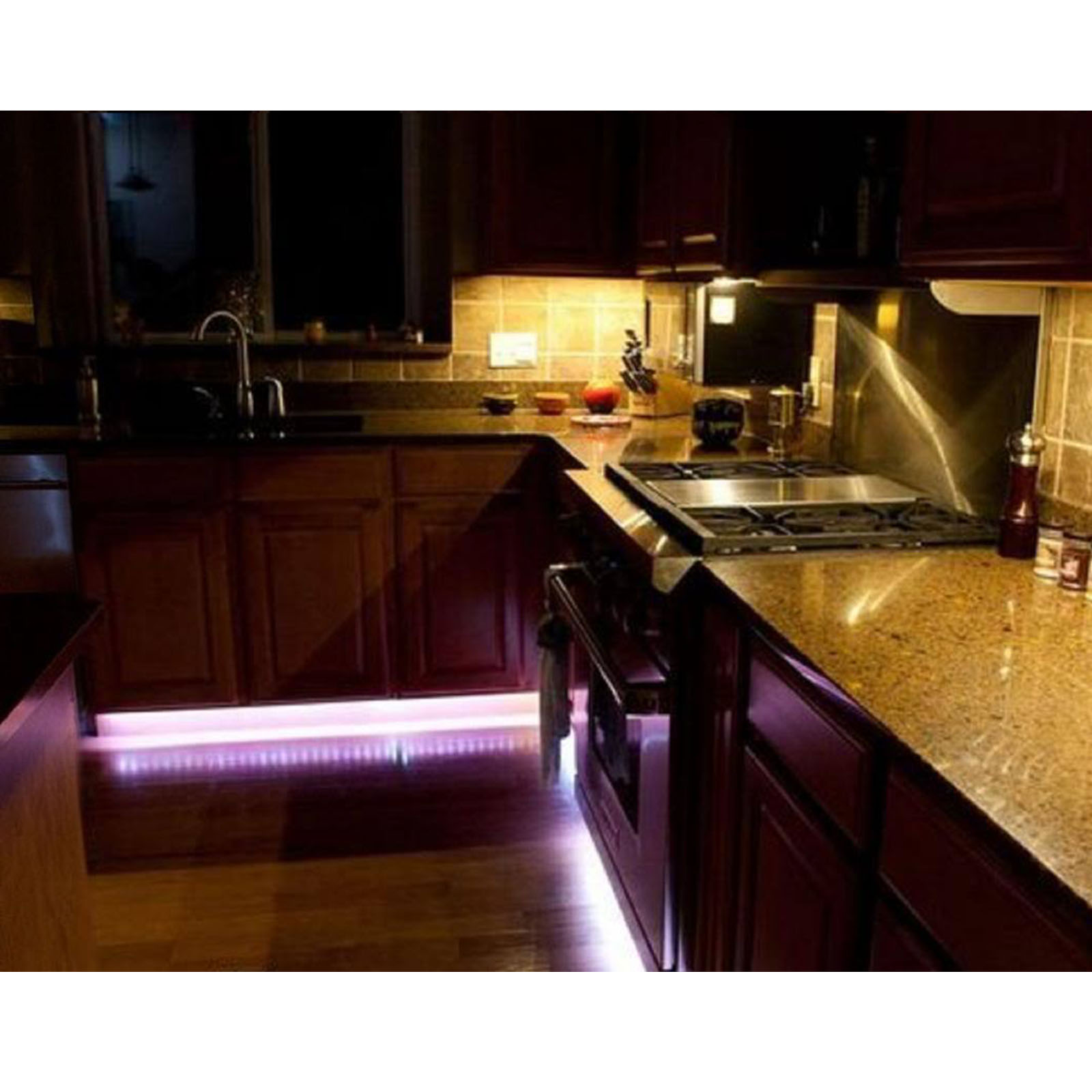 Details About Led Rgb Red Green Blue Yellow White Kitchen Cabinet Bar Night Club Lights Strip