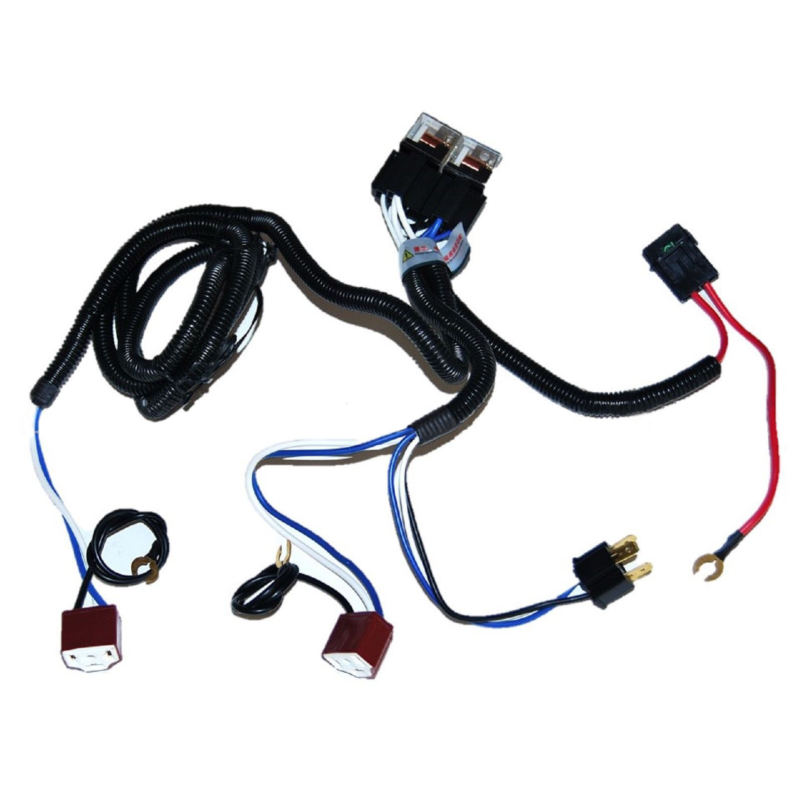 ceramic h4 headlight relay wiring harness 2 headlamp light bulb rh ebay com 1954 Ferrari 1953 Ferrari