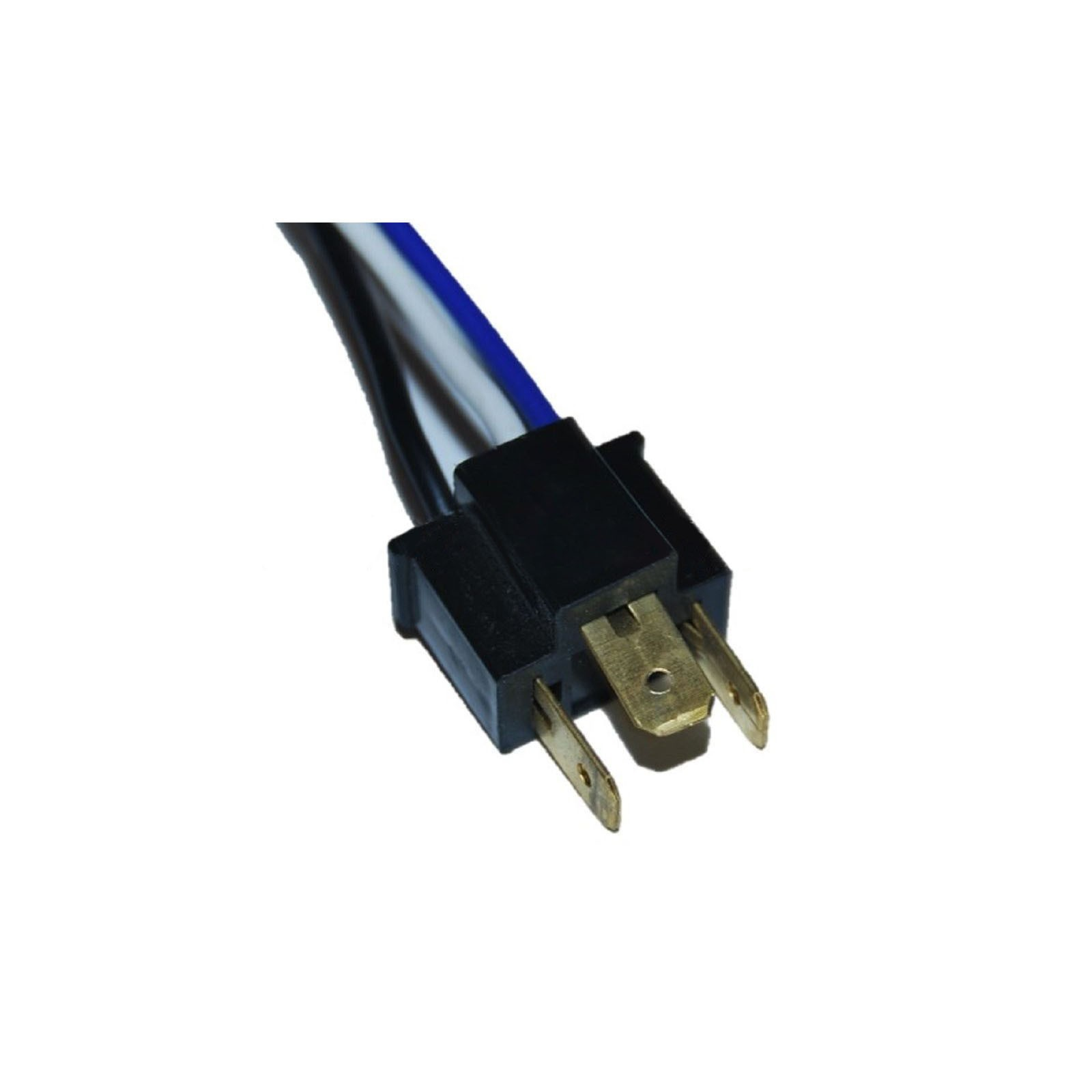 Details about Ceramic H4 Headlight Relay Wiring Harness 2 Headlamp on