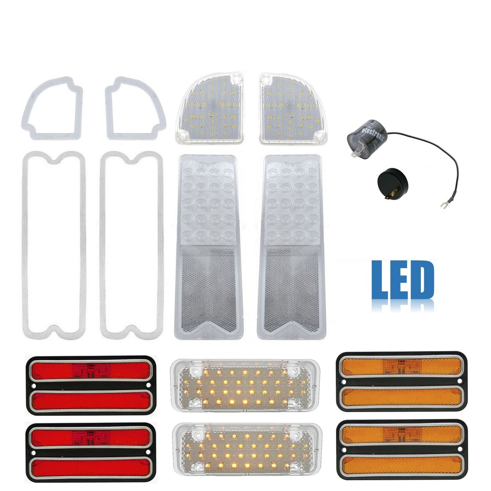 71-72 Chevrolet Chevy Truck parklamp  lens gasket pair