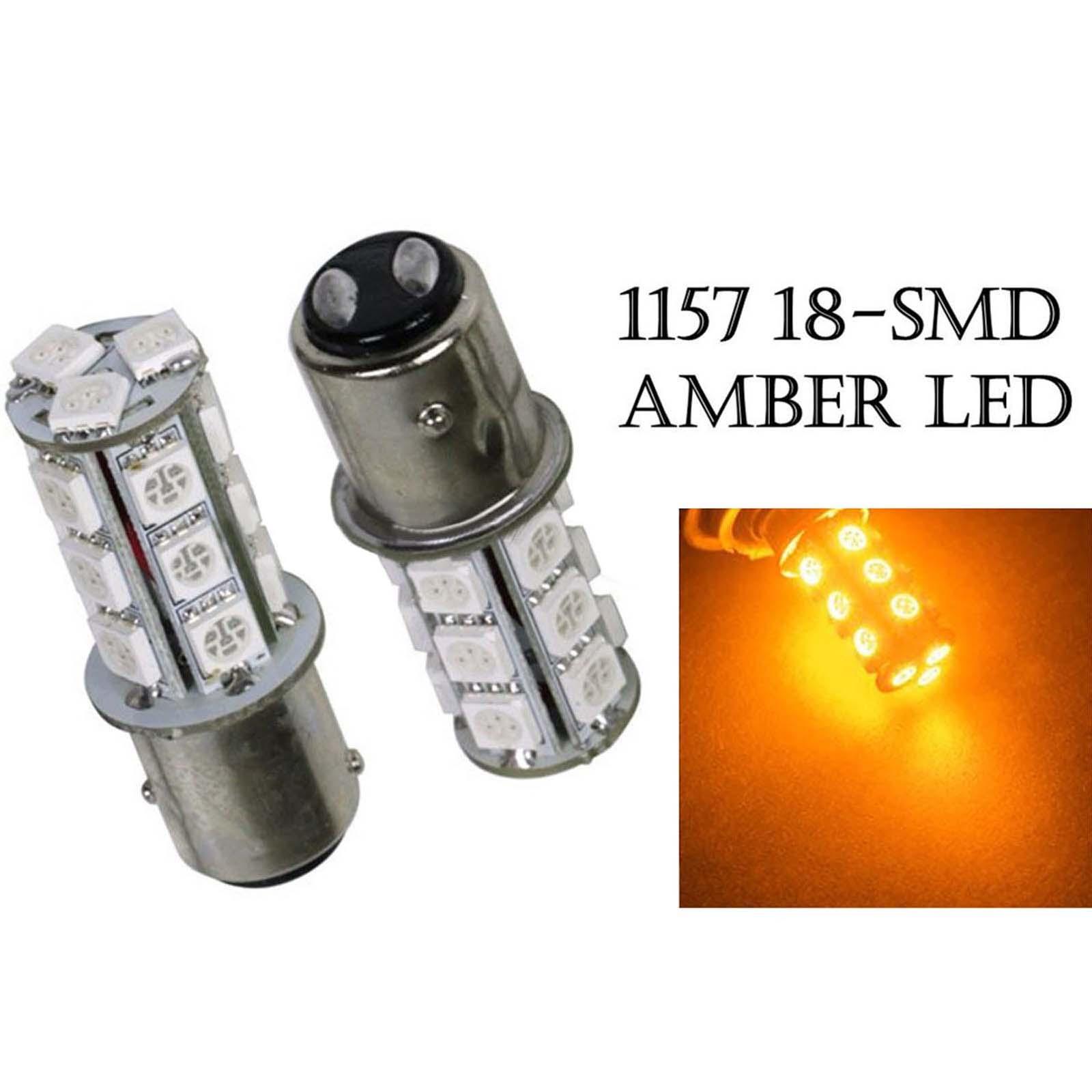 9 LED STOP BRAKE TAIL LIGHT BULBS LAMPS