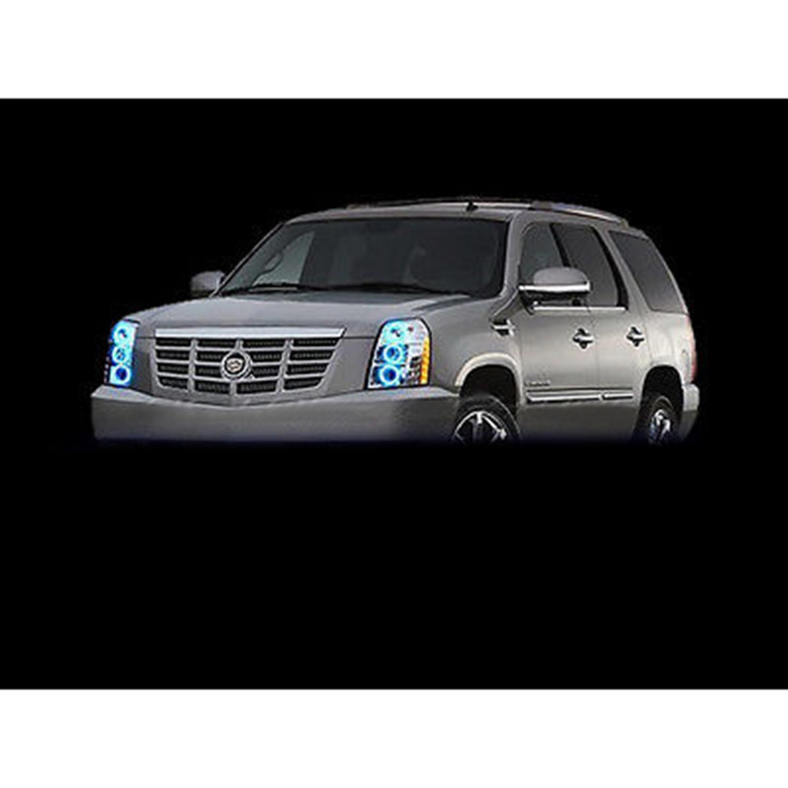 07-14 Cadillac Escalade Multi-Color Changing LED RGB ...