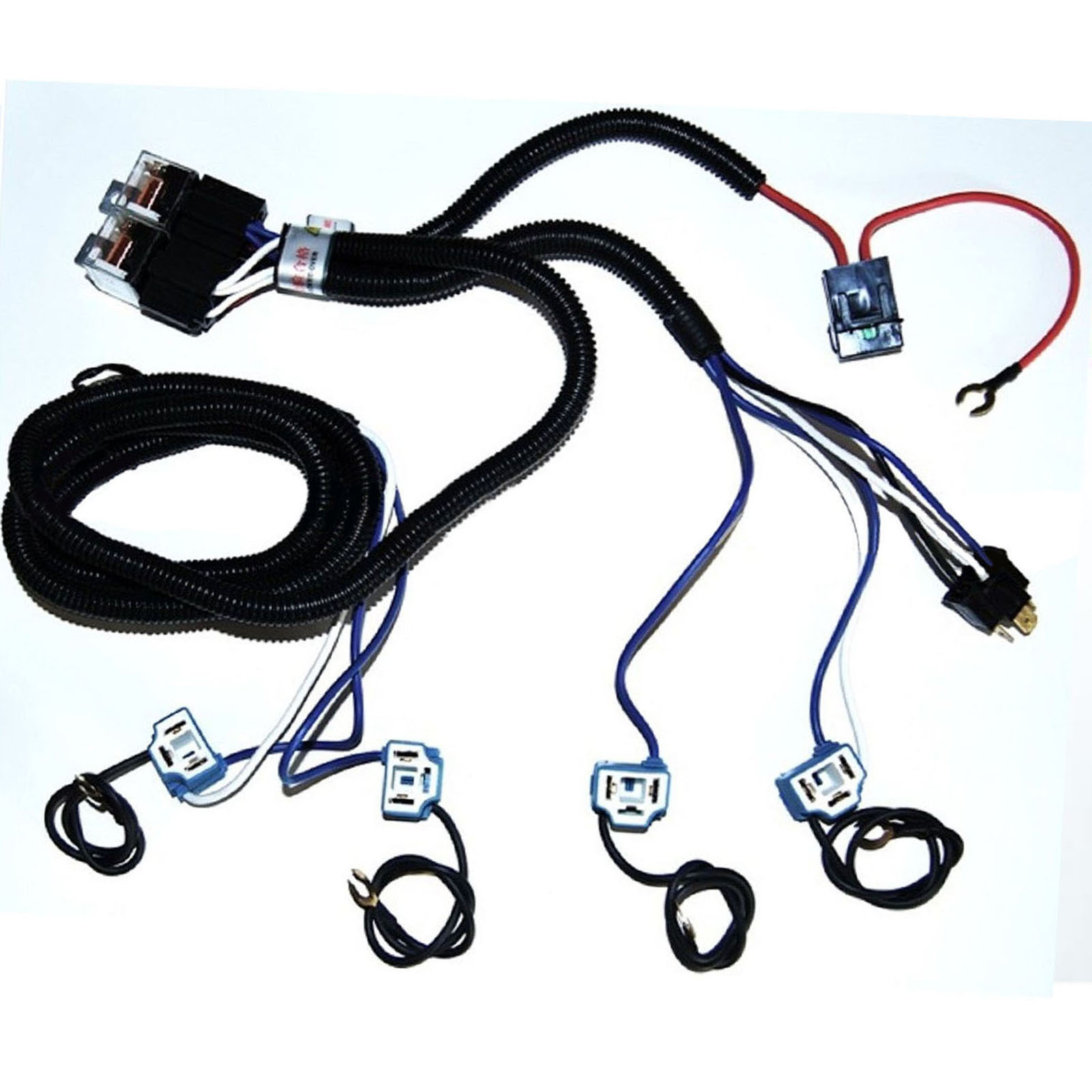 Headlight Relay Wiring Kit