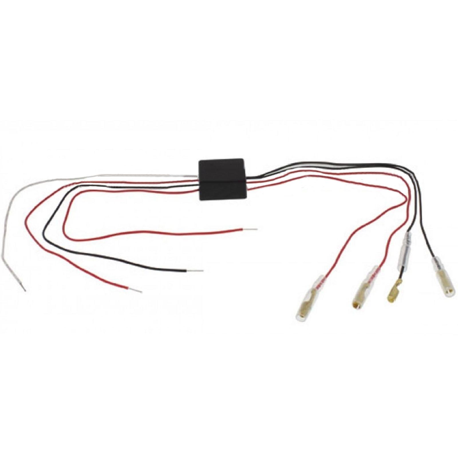 motorcycle led headlight drl halo light bulb  u0026 turn signal relay control module 616245402402