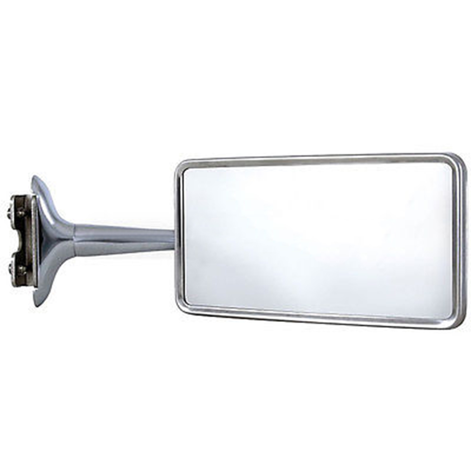 Rectangle Long Arm Peep Glass Mirror Outside Side Rear